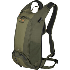 Shimano Unzen II Trail Backpack 14L, olive green